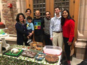 yazdan lab, brain cake, baking, neural engineering